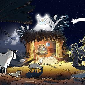 Christmas Crèche 3D