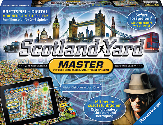Scotland Yard Board